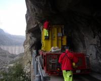 15 MVA transformer for Iride hydropower plant