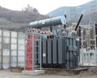 50 MVA 230 kV step-up transformer for Cardano hydroelectric plant