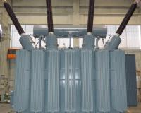 50 MVA 230 kV step-up transformer for hydroelectric plant