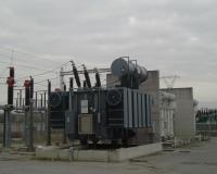 6.6 MVA transformer with 2 cores and 80 switching positions regulated by OLTC