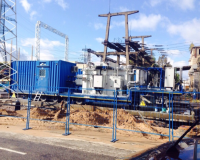 Mobile substation application