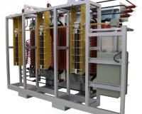 OLTC installation on TTR transformer