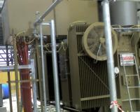 Power transformer installed in CCPP San Severo plant