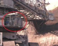 SEA liquid immersed transformer installed on mining machine