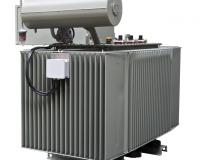 Transformer with conservator and cable box IP 41