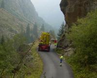 Transportation (max speed 3 km/h)