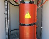 1500 kVA cast resin transformer in Kathu solar plant South Africa
