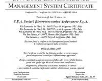 BS OHSAS 18001 certificate