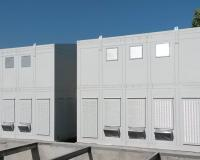 IP54 enclosure with filtered ventilation system