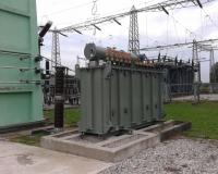 27136 kVA Converter transformer during short circuit withstand test