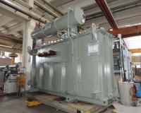 27136 kVA Converter transformer during routine and type tests in SEA