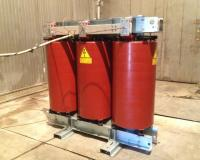 ECO+P Cast resin transformer at CESI during the tests