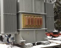 Single-phase transformer_Power rating 3300 kVA_special secondary exits